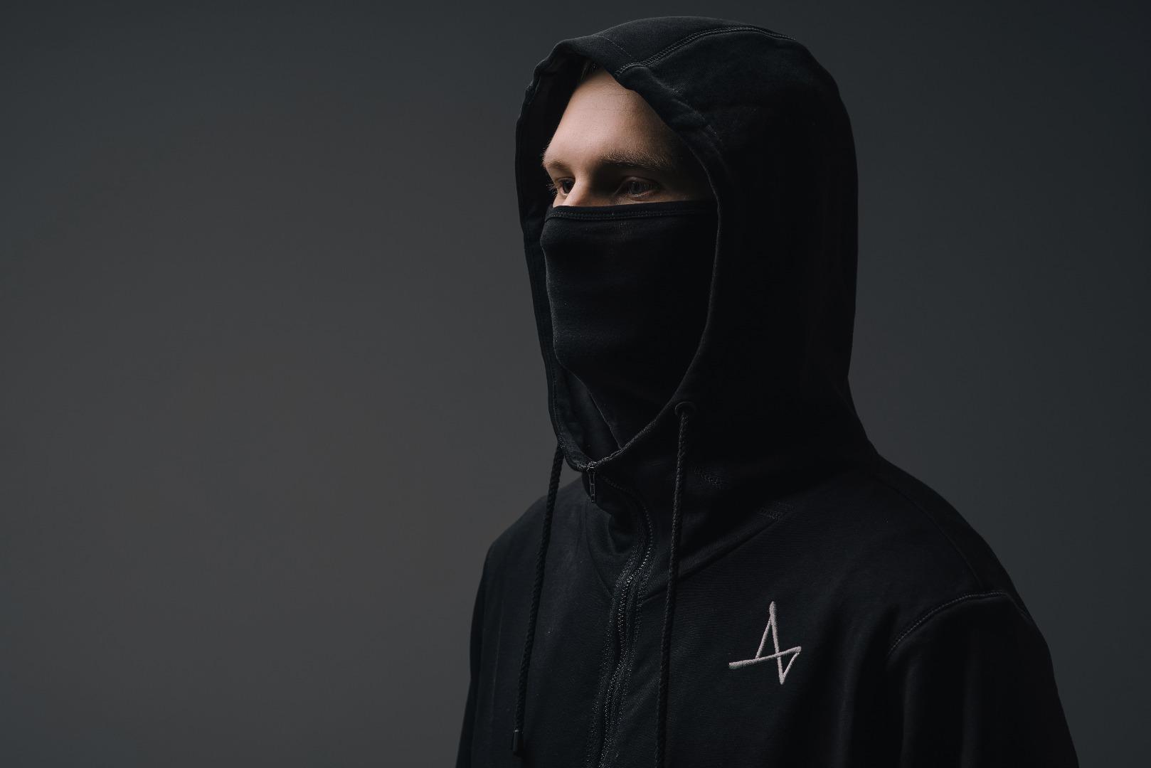 Купить со скидкой Толстовка с маской Ninja
