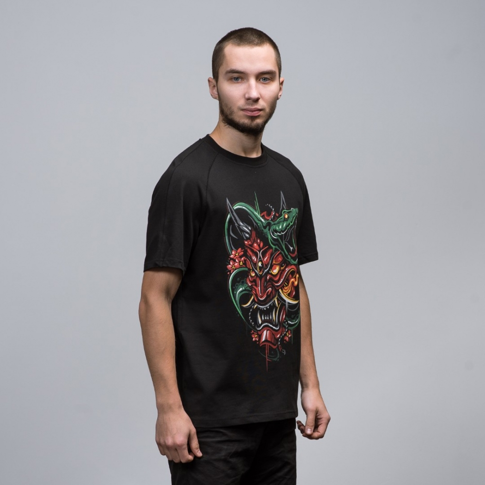 T-Shirt Hannya Mask